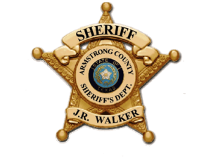 English: Armstrong Sheriff's Office Badge