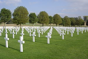 american somme cemetary Bony