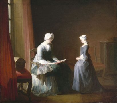 File:Chardin, Jean-Siméon - The Good Education - Google Art Project.jpg
