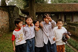 Children in Hanoi