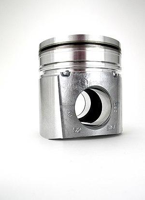 Cummins Diesel engine piston. permanent mold c...