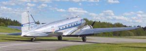 DC 3 taxar ut