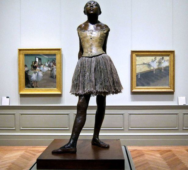 """The Little Fourteen-Year-Old Dancer"" by Edgar Degas"