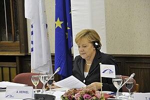 Angela Merkel September 2010