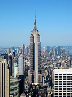 Built in 1931, The Empire State Building in Ne...