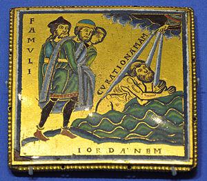 Enamel plaque Naaman BM