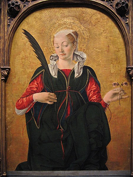 File:Francesco del Cossa - Saint Lucy.jpg