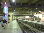The interior of the TGV terminal