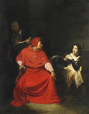 Joan of Arc is interrogated by The Cardinal of...