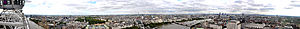Panorama of the London skyline. Taken from the...