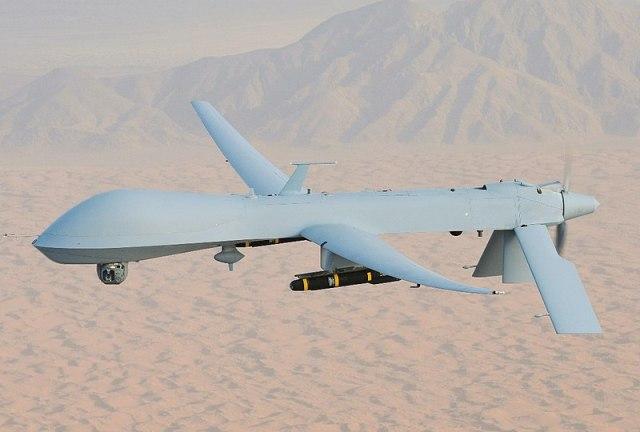 File:MQ-1 Predator, armed with AGM-114 Hellfire missiles.jpg