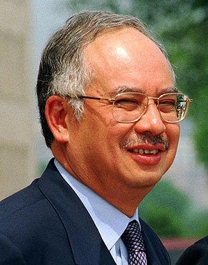 Najib Tun Razak, Deputy Prime Minister of Mala...