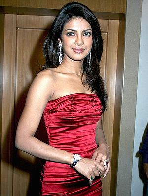 Indian actress & Miss World 2000 Priyanka Chopra
