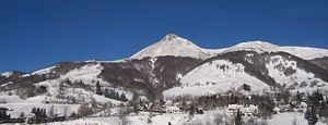 The Puy Griou, one of the summits of the Monts...