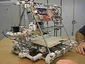 RepRap v.2 'Mendel' open-source FDM 3D printer