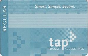 English: Transit Access Pass (TAP CARD)
