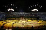 Ceremonia de apertura de los Juegos Panamericanos R�o de Janeiro 2007.