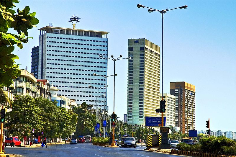 File:Buildings near Nariman Point, Mumbai.jpg