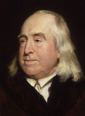 Jeremy Bentham, by Henry William Pickersgill (...