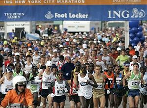 English: ING NYC Marathon