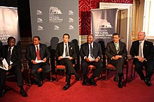 Khama at the London Conference on The Illegal Wildlife Trade.