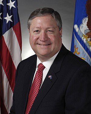 Official portrait of Secretary of the Air Forc...