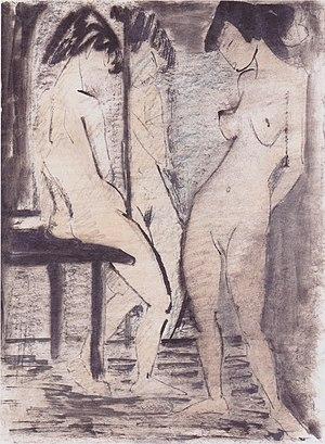 Otto Mueller - Drei Akte - ca1925
