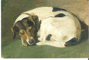 """Paul Raud, """"A Sleeping Dog"""""""
