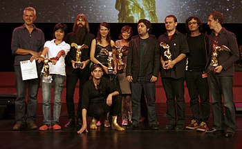 The winners of the Prix Ars Electronica 2008 (...