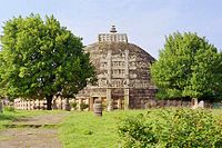 Đại tháp tại Kiến-ch� (Ấn Độ, tk. 3 TCN)