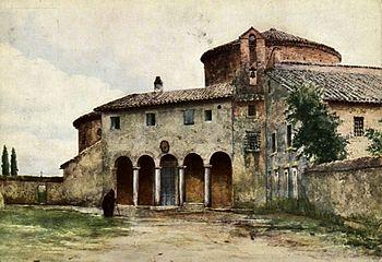 Santo Stefano Rotondo in Rome (rione Celio).