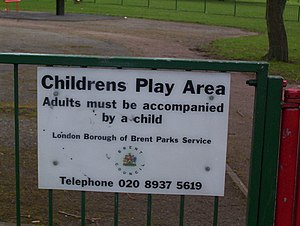 English: Silver Jubilee Park Playground. I had...