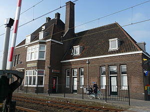 Nederlands: Station Gilze-Rijen in Rijen