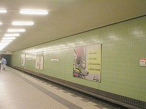 English: The Berlin U-Bahn station Kurfürstend...