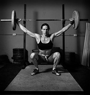 English: weight lifting