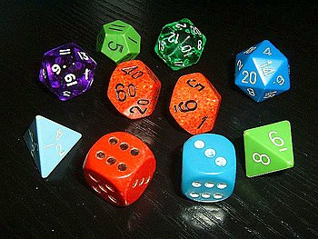 Dice for various games, especially for rolepla...