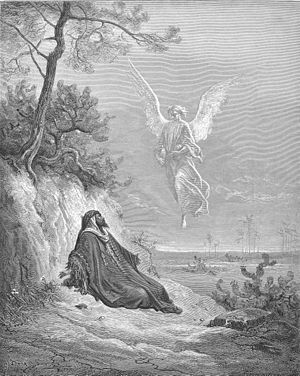 Elijah Is Nourished by an Angel (1Kings 19:1-21)