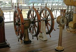 barre bateau wikipedia