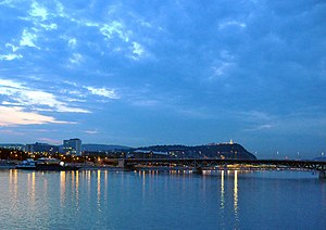 Budapest (Hungary): the Danube and the Petőfi ...