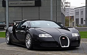 Bugatti Veyron 16.4 – Frontansicht (1), 5. April 2012, Düsseldorf.jpg
