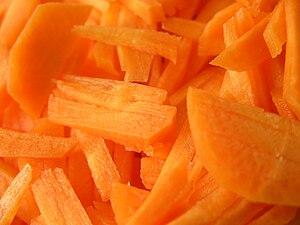 Carrots Julienne.