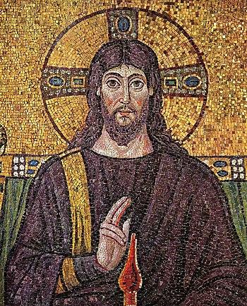English: Basilica of Sant'Apollinare Nuovo in ...