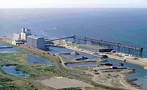 Churchill, Manitoba, Canada: Seaport and granary