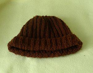 warm winter woolen cap
