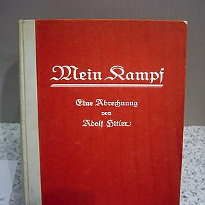 "First edition of Adolf Hitler's book ""Mei..."