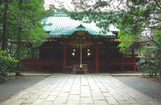 Hikawa Shrine (Akasaka Minato Tokyo Japan)