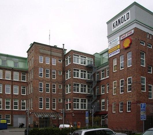 Kanolds Fabrik. Bild: Raphael Saulus. Public Domain