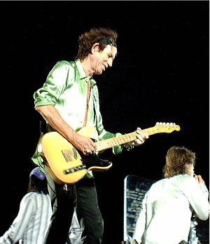 English: Keith Richards, live in Hannover