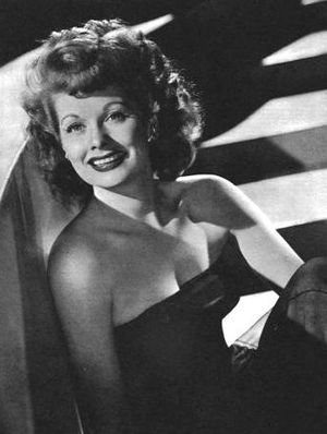 Cropped version of Image:Lucille Ball - YankAr...