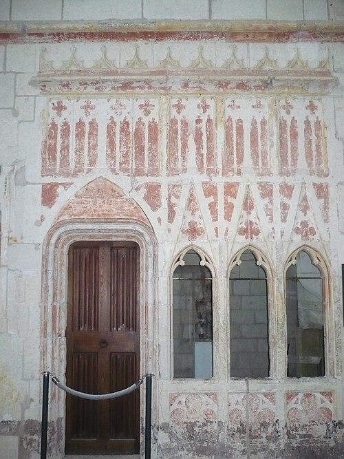 Oratoire chapelle chateau angers